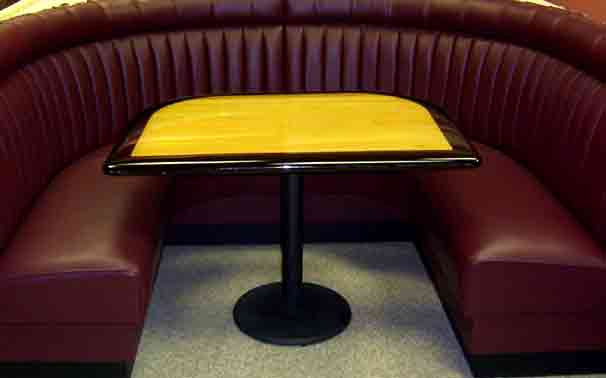 Restaurant Upholstery, Booth Upholstery, Chair Upholstery